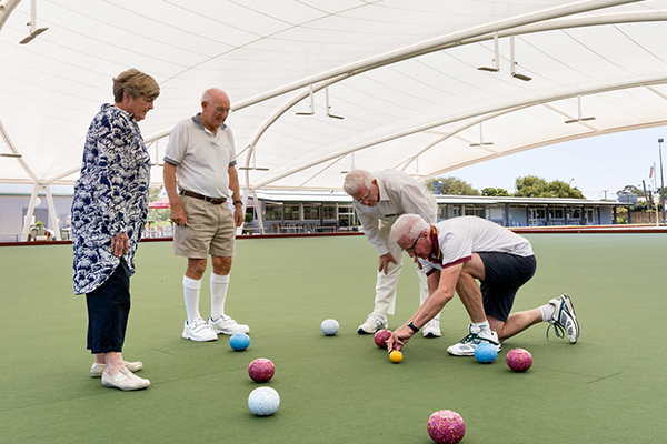 get into the game northern suburbs bowls club wavell heights lawn bowls summer sport local loving nundah